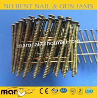 China 15 Degree Coil Nails for Wood Pallets with Top Quality on sale