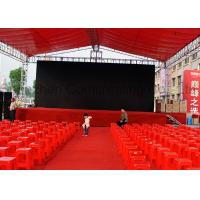 Quality P4.81 Rgb Full Color Stage LED Screen 6000cd/㎡ Brightness Custom Made Screen Dimension wholesale