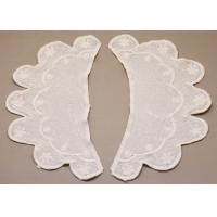 Quality Custom Crochet Lace Collar, Cotton Embroidery lace trims for Decorative Girls Skirts wholesale