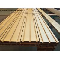 Quality Elegant Ti Gold Aluminium Door Profiles / Heavy Sliding Door Outer Frame Extrusions wholesale