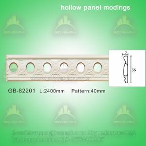 Quality Decorative PU center hollow mouldings/ hall decoration wholesale