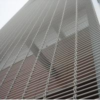 Quality Metal Curtain Architectural Decorative Wire Mesh Panels Stainless Steel Wire Material wholesale