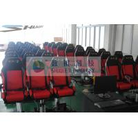 Quality Movie Motion Theater Chair With Pnuematic Control System For Indoor wholesale