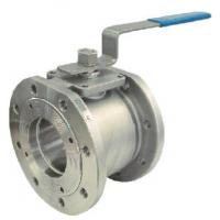 Flanged End Small Size Trunnion Ball Valve 1/2 - 4 Steel Material Lever Operation