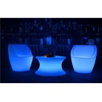 China Commercial LED Nightclub Furniture Infrared Remote Control RGBW LED Light Chair on sale
