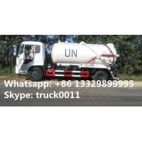 Quality dongfeng tianjin 10,000L vacuum sewage suction truck for UN, hot sale dongfeng brand LHD 4*2 sewage suction truck with wholesale