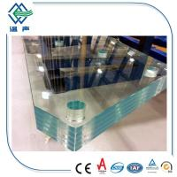 Buy cheap Skylight two layers Lamianted Glass panels , Processed Solid bent laminated from wholesalers