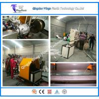 Quality PVC Transport Spiral Steel Reinforced Pipe Hose Extrusion Line, Making Machine,Extruder wholesale