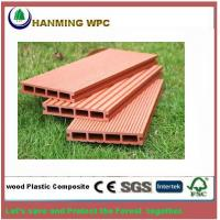 China Wood Plastic composite Outdoor decking for swimming Pool and Park on sale