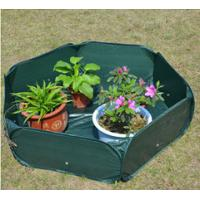 Quality Pop Up Raised Garden Plant Accessories Bed120gsm PE, 210D oxford PVC coated, 1.2x4mm steelwire rods  121x121x30cm wholesale