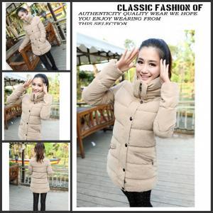 China Korean Version Of Thick Fashion Cotton Coat on sale