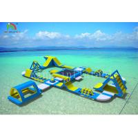 China Giant Inflatable Floating Water Park Summer Outdoor Sport Games Size 30*25 m on sale