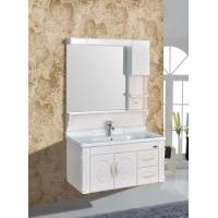 Cheap Embossing PVC Wall Hanging Bathroom Vanity / Bathroom Decoration Furniture for sale