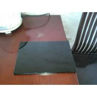 Quality Black high glossy kitchen cabinet door panel wholesale
