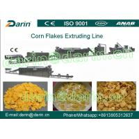 Quality Automatic Corn Flakes Processing Line , Cereal Breakfast Home Popcorn Machine wholesale