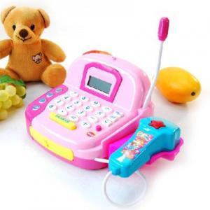 China Children play house toys - simulation supermarket smart cash register on sale