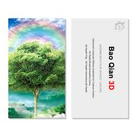 Quality Customized Logo 3D Lenticular Card / Shaped Stand Holographic Business Cards wholesale