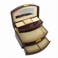 Buy cheap 7-apartment cosmetic box with mirror, OEM orders are welcome from wholesalers