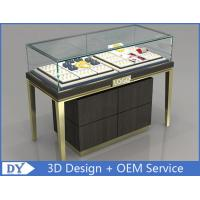 Quality Custom Jewelry Display Cases With Sliding door / Pull Out Door wholesale