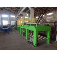 China Metal Surface Rock Wool & PU Sandwich Panel Making Machine with Fly Saw Cutting on sale