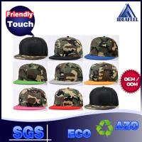 Quality Camouflage Acrylic Fabric Snapback Baseball Caps 7 Holes Closure Available wholesale
