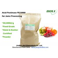 Quality High Efficient Pectic Enzyme Food Grade Superior Stability For Juice Porduction wholesale