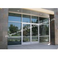Quality Modern Commercial Decorative Soundprrof Glass Door Swing Aluminum Frame Glass Door For Sale wholesale