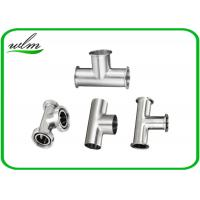 Quality Equal Straight Reducing Sanitary Pipe Fittings Y Shape Tee Pipe Fittings wholesale