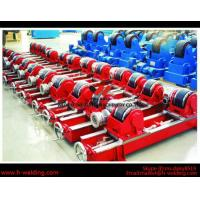Cheap 80Ton Lead-Screw VFD Control Welding Turning Rolls / Rotators For Cylinder Cycle Seam for sale
