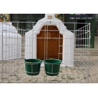Buy cheap Well Ventilated Calf Hutches With Wide Fence , Draught Free Calf Shelters from wholesalers