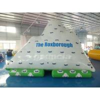 Quality One Side Sliding and Three Sides Climbing Inflatable Water Iceberg wholesale