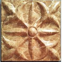 Quality Fire Retardant Marble Outdoor 3D Wall Covering Hanging 3D Wall Decor Panels wholesale