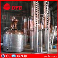 Quality 3000L customised copper steam heating Commercial Distilling Equipment for vodka wholesale