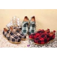 Quality Wholesale New top grade b-urberry mens leisure designer cloth casual classic grid shoes wholesale
