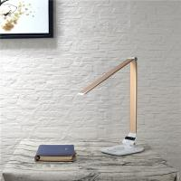 Quality Wireless Charger Dimmable Led Desk Lamp Changeable CCT 5 Grades Brightness wholesale