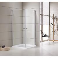Quality Small Bathrooms Square Shower Stalls / Shower Cubicle 5mm Thickness Doors wholesale