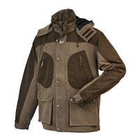 Quality Men's N/T Reticulation Peach Hunting Waterproof Jacket 100% Polyester wholesale