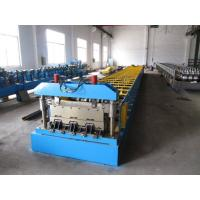 Buy cheap 0.8-1.5mm Thickness Steel Floor Decking Forming Machine With High Strengthen Power product