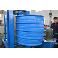 China 0.4-0.8mm Thick Colour coated Steel Roof Panel Crimping Curving  Roll Forming Machine 2.2 Kw Motor power on sale