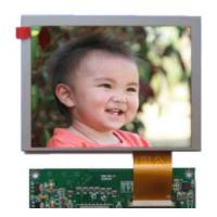 640x480 Lcd Display Panel 250 Luminance , Hd Tft Display 4 / 3 Aspect Ratio