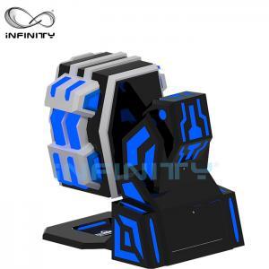 Quality Fiberglass 9D Virtual Reality Simulator Rotating Equipment / 360 King Kong 9DVR Cinema wholesale