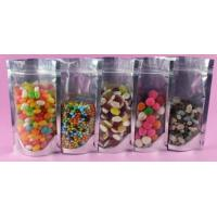 Plastic Laminated Moistureproof Stand Up Ziplock Bags For Nuts Packing