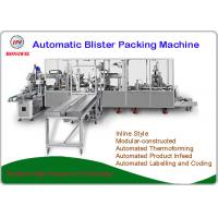 Quality AA/AAA Battery Blister Packaging Equipment 380V/50Hz For Consumer Electronics Products wholesale