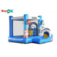 China Giant Inflatable PVC Air Bouncer Slide Animals Combo Open 2 Years  Warranty on sale
