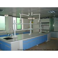 Buy cheap Acid Resistant Wood Lab Furniture Aluminum Alloy Handle 12.7mm Solid Bench Top from wholesalers