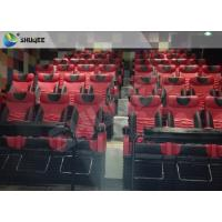 Quality Motion Chair 4D Cinema System Metal Flat Screen / Arc Screen 4D Movie Theater wholesale