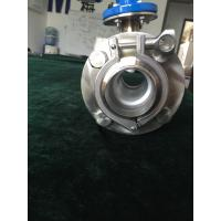 Buy cheap Clamp type magnetic flow meter for sanitary grade and easy installation for full SS304 product