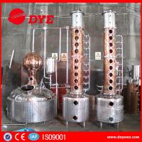 Quality Custom Durable Commercial Distilling Equipment For Vodka Alcohol wholesale