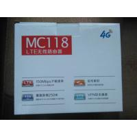 Cheap 4G VOIP LTE CPE Router with SIM Card slot, 2 external antenna, 2 RJ11 for sale