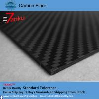 Quality High strength light weight carbon fiber plate 1.0TM matte finish wholesale
